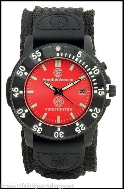 "SMITH & WESSON FIREFIGHTER WATCH ""HONOR YOUR HERO! #SmithWesson #Sport $59.99"