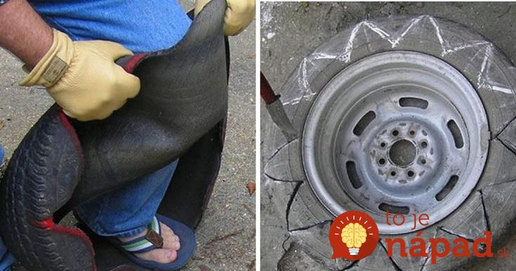 Tak toto by sme skutočne nečakali. Pozrite sa, aká utešená vec môže vzniknúť zo starej pneumatiky!