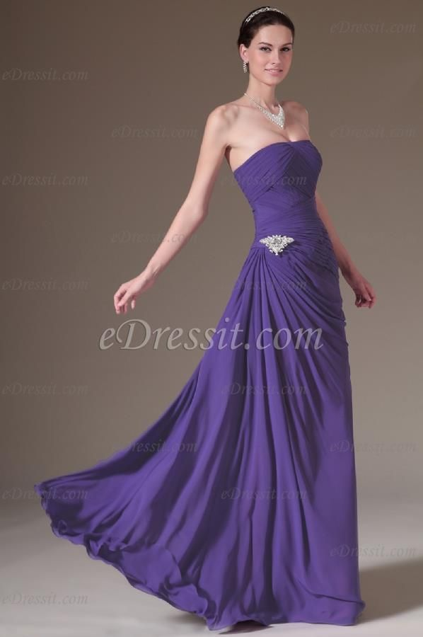 41 best color vestido images on Pinterest | Evening gowns, Evening ...