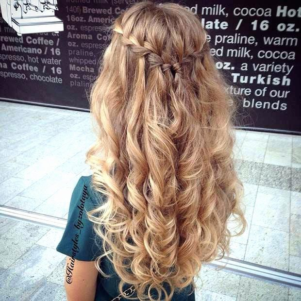 Updo For Wedding Guest Lovely Wedding Guest Hairstyles For Long Hair Curly Hair Styles Hair Styles Curly Prom Hair