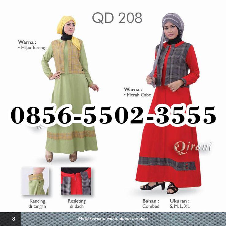 Baju Qirani Rumah Madani, HP.0856-5502-3555,