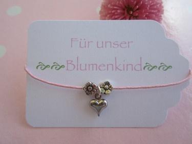 Armband für das Blumenkind
