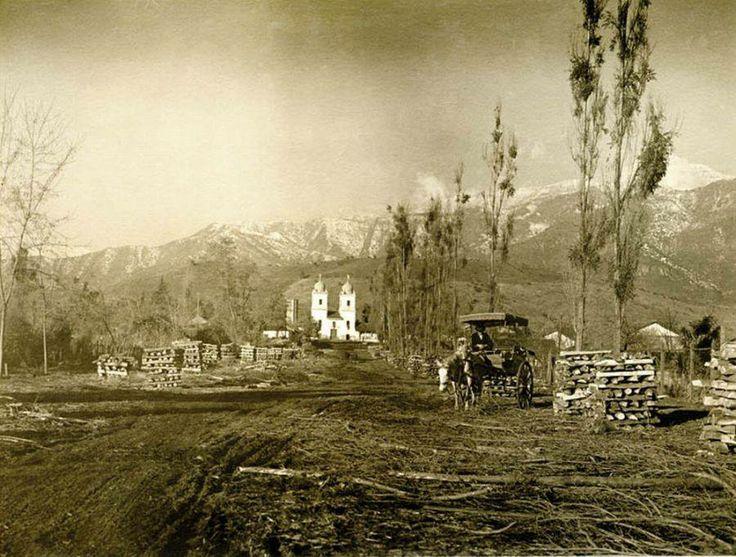 Iglesia de los Dominicos. Año 1924