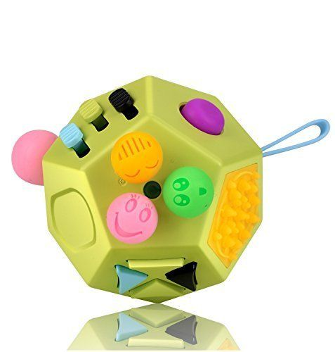 [Sponsored]Fidget Cube 12 Sides Dodecagon Toy Stress and Anxiety Relief Relax for Children and Adults ADD/ADHD/OCD and Autisme Focus Distraction (Green&MixColor). #[Sponsored]Fidget #Cube #Sides #Dodecagon #Stress #Anxiety #Relief #Relax #Children #Adults #ADD/ADHD/OCD #Autisme #Focus #Distraction #(Green&MixColor)