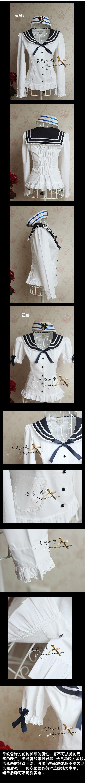 Lolita kjole sirkel Hjem avgjørende student Meng Japanske Marinen krage kjole skjorte skreddersydde ultra-populære modeller 8079 - Taobao