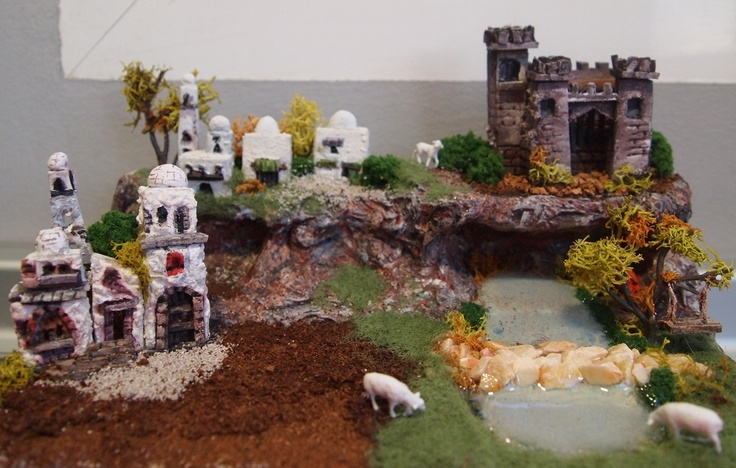 Vista nacimiento, el castillo