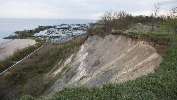 The Scarborough Bluffs, now as then, are Toronto's most striking physical feature, dramatic in a way no other part of our understated landscape can match