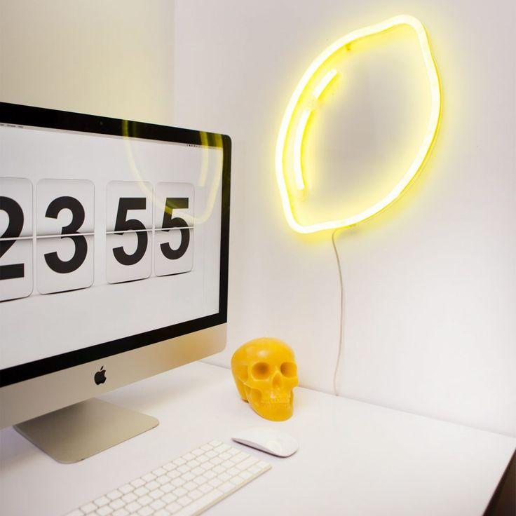 LED Neon Light Art Lemon
