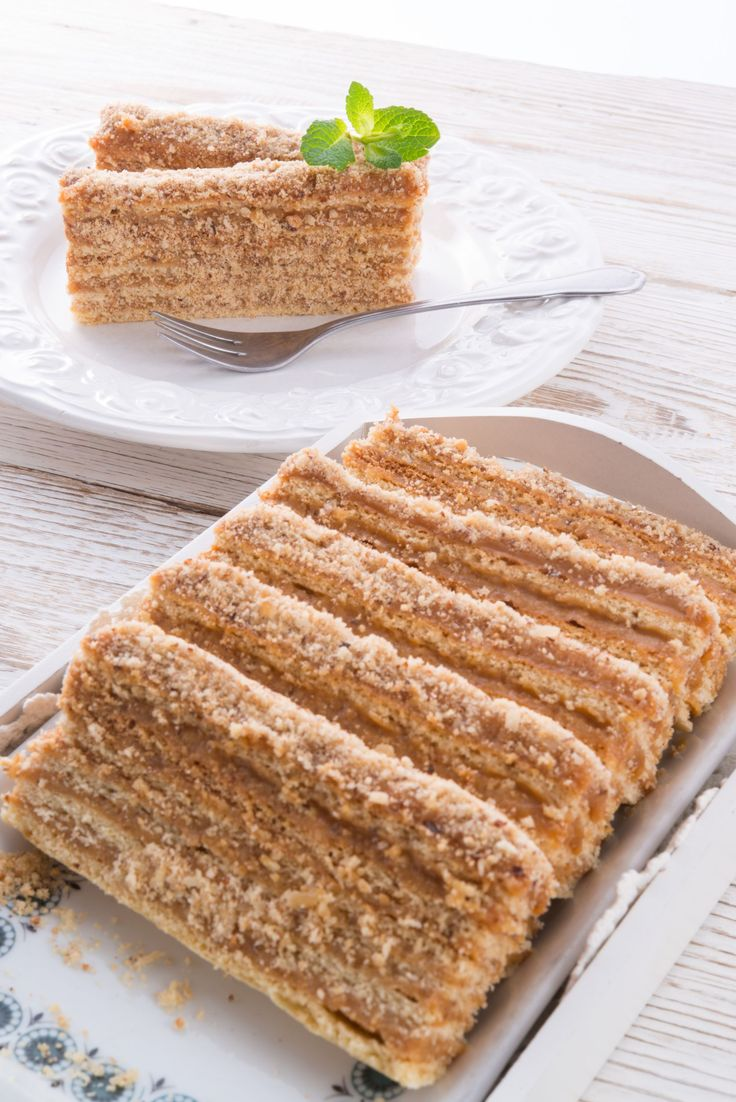 This is the confection of all confections! Check out this beautiful layered caramel cake - tastes just as great as it looks - and you'll be the center of attention at any celebration you bring it to!