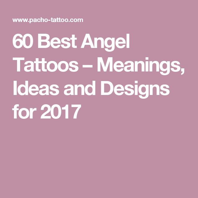 60 Best Angel Tattoos – Meanings, Ideas and Designs for 2017