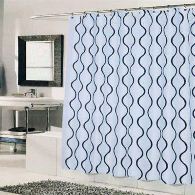 49 best images about shower curtains on pinterest extra long shower curtain black shower. Black Bedroom Furniture Sets. Home Design Ideas