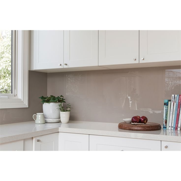 Splash DIY 3150 x 690mm White Pearl Splashback