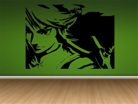 Link From Legend Of Zelda Wall Decal Wall Art