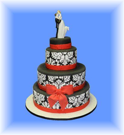 32. Gâteau de mariage - L'ésprit avant-gardiste