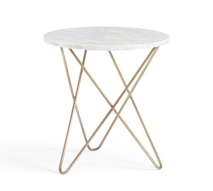 Darcy Marble Top Side Table