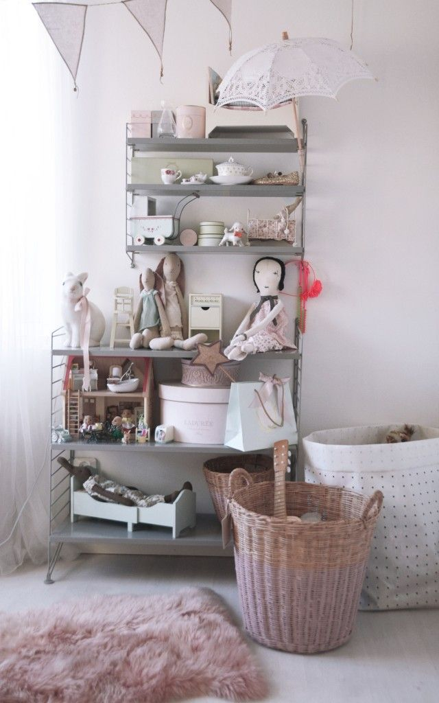 Gingerbread house blog: girl's room details #bunnyinabow Maileg, Jess Brown, Egmont Toys