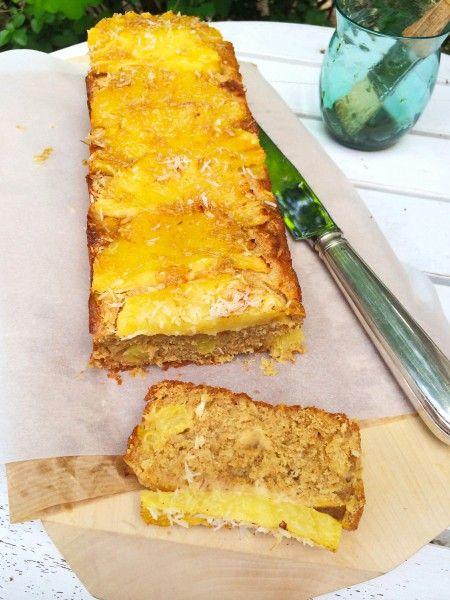 Voor dit recept gezonde ananas cake maken. Deze cake is heerlijk als tussendoortje of ontbijt. Je kan de ananas ook vervangen voor ander fruit recepten cake