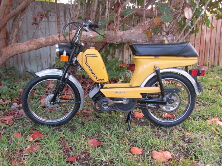 Moped - Batavus StarFlite | To Further the Invention of ...  Batavus