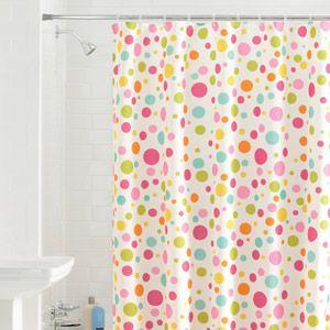 Polka Dot Shower Curtain