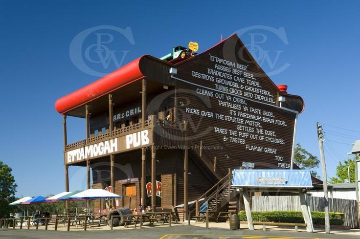 Ettamogah Pub Sunshine Coast near Maroochydore Qld... World's most photographed pub! #airnzsunshine