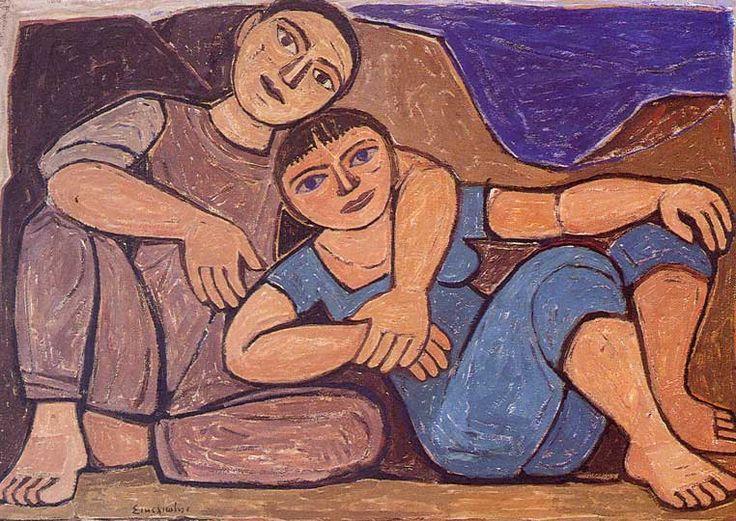 Love Pair by Giorgos Sikeliotis