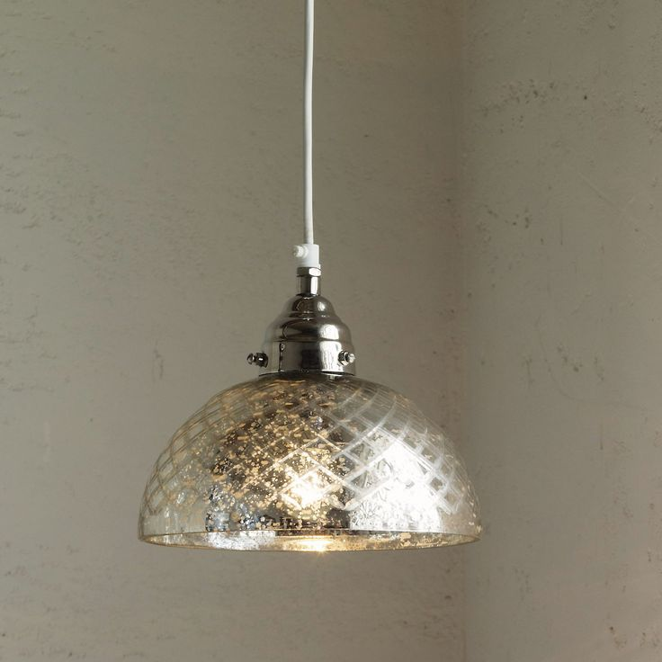 Light option:    Buy Home Accessories > Lighting > Antiqued Cut-glass Ceiling Light from The White Company