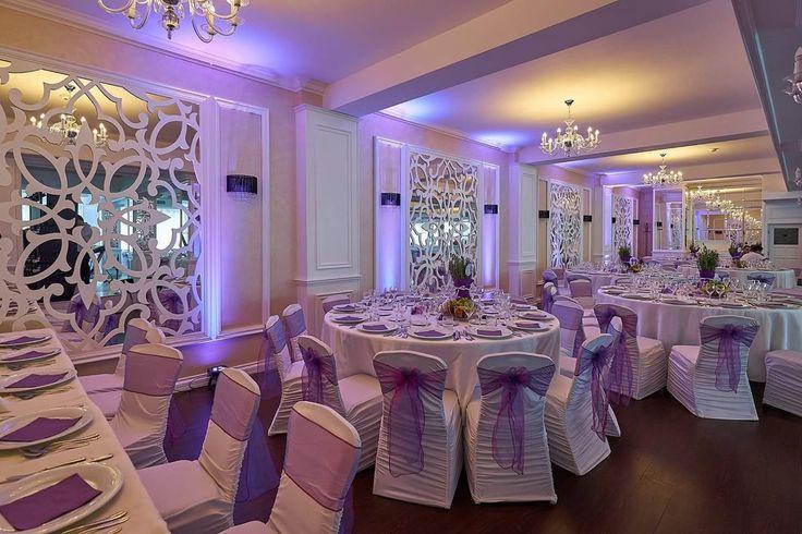 #purpleuplighting #luminiambientale #decor #nunta #lavanda
