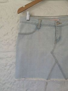 Ladies Agent Ninetynine Fringed Skirt - Size 12 - RRP $120 - Now Selling! Click through to go to eBay Auction.