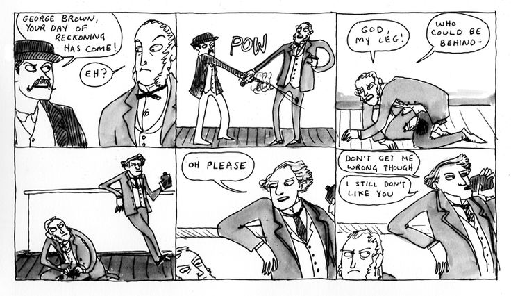 """""""George Brown"""" (Hark, a vagrant: 184) by Kate Beaton."""
