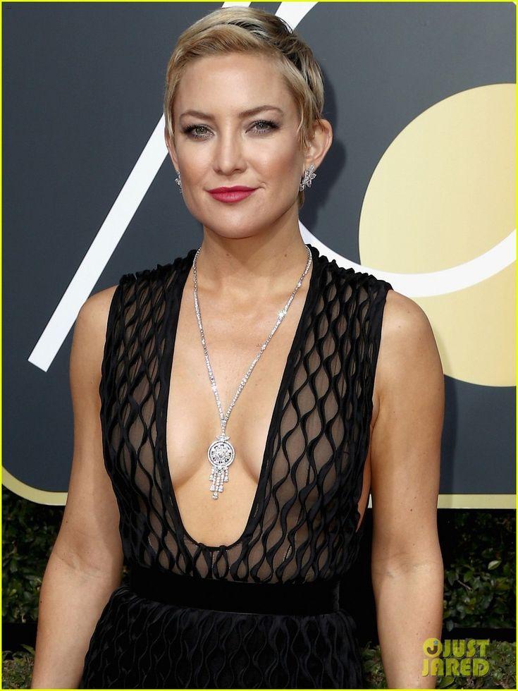 Kate Hudson Looks Stunning on the Red Carpet at Golden Globes 2018!