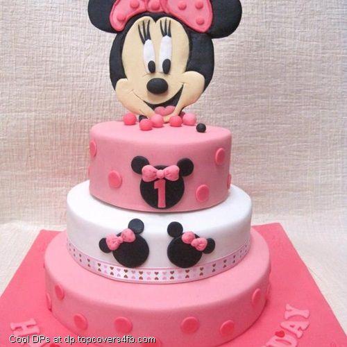D Minnie Mouse Birthday Cakes