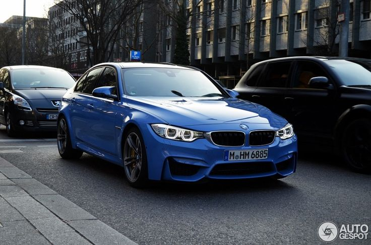 F80 BMW M3 Sedan Spotted Out And About - http://www.bmwblog.com/2014/03/24/f80-bmw-m3-sedan-spotted/