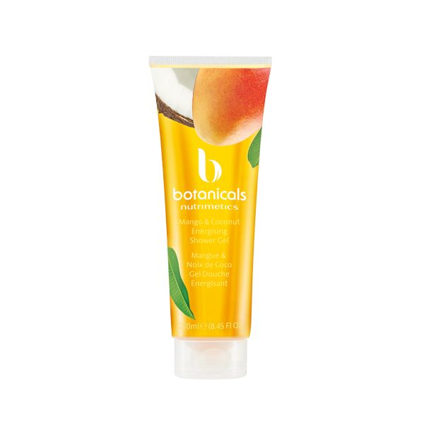 Inspired by our favourite fruits: Mango and Coconut... Botanicals Shower Gels #nutrisummer