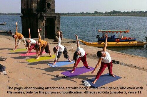 Bhagavad Gitanquotes for yogis. www.paramyoga.org  #yoga