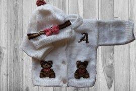 Teddy Bear Baby  Sweater