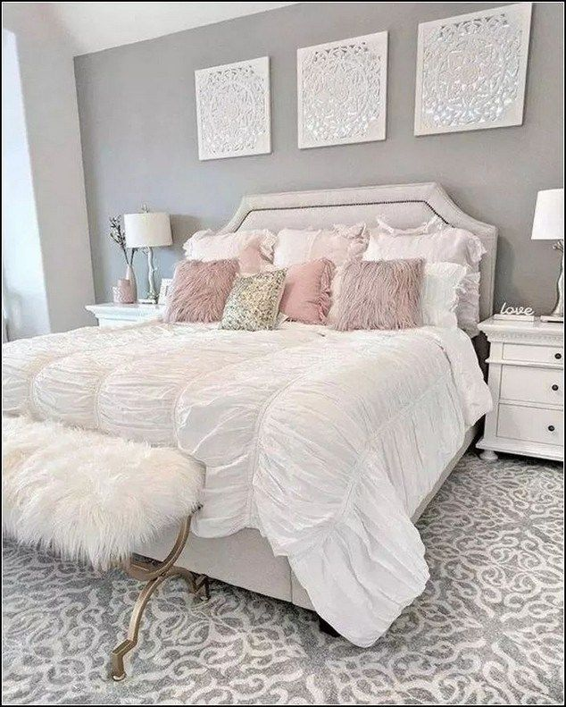 25 Best Silver And Grey Bedroom Ideas That Will Fascinate You Greybedroomideas Bedroomideasforcouples Grey In 2020 Luxurious Bedrooms Bedroom Makeover Bedroom Decor
