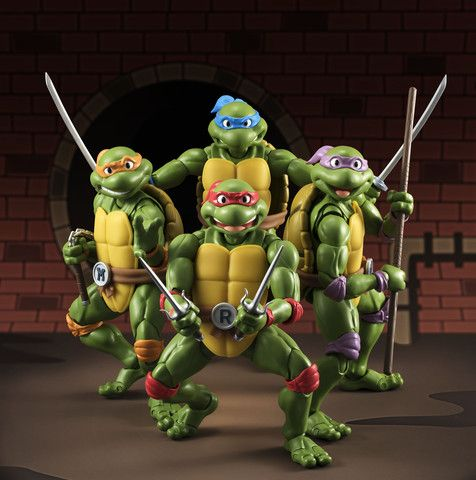 **Pre Order**S.H. Figuarts Teenage Mutant Ninja Turtles Leonardo Actio – Toyz In The Box
