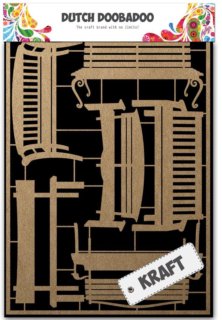 479.002.006 Dutch Kraft Art Benches