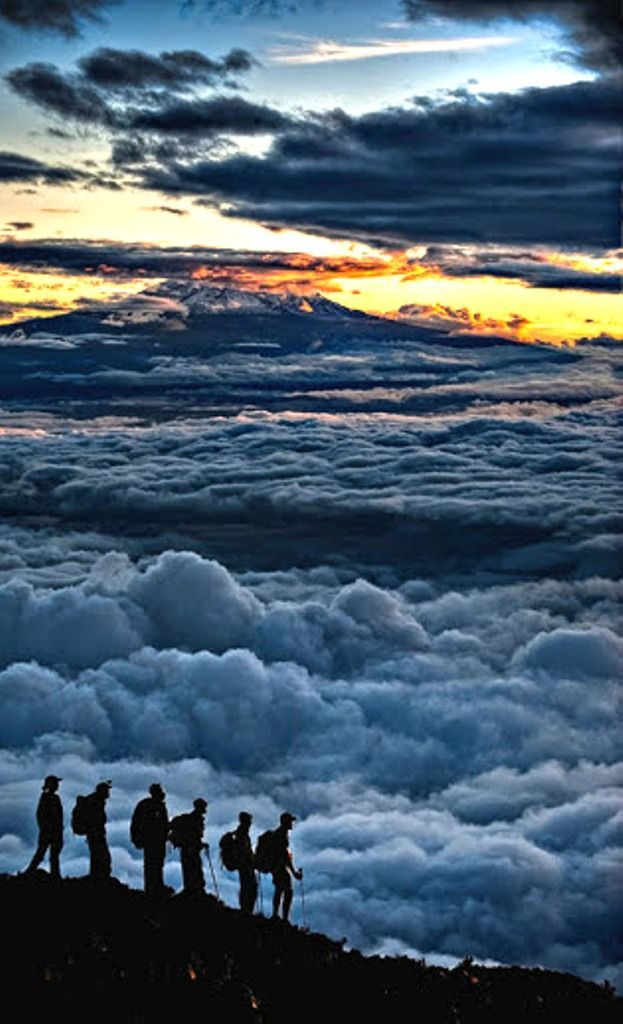 *Sunrise on Kilimanjaro (by Hudson Henry)