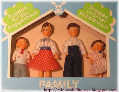 Minna's Miniatures: Ari doll family - Ari dolls house dolls