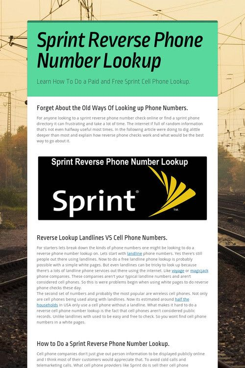 Best 25+ Phone number reverse ideas on Pinterest Mobile number - sprint customer care