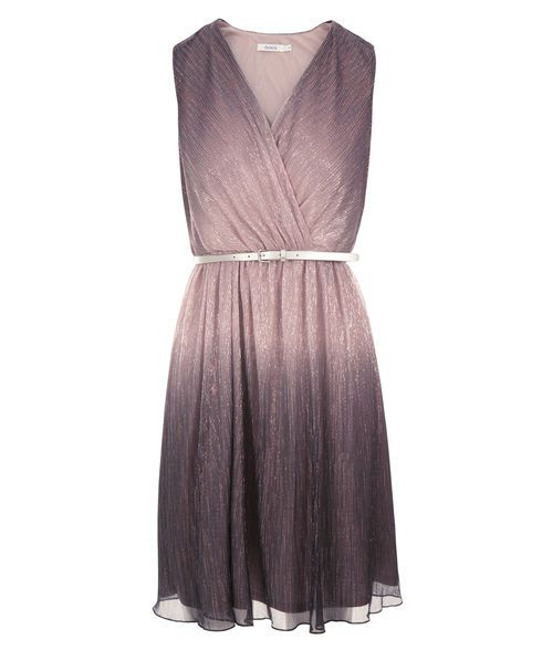 Ombre Pleated Dress, Light Pink/Purple #rickis #winter #winter2016 #winterfashion #rickisfashion #blushpink #prettyinpink #colourofthemoment #loverickis