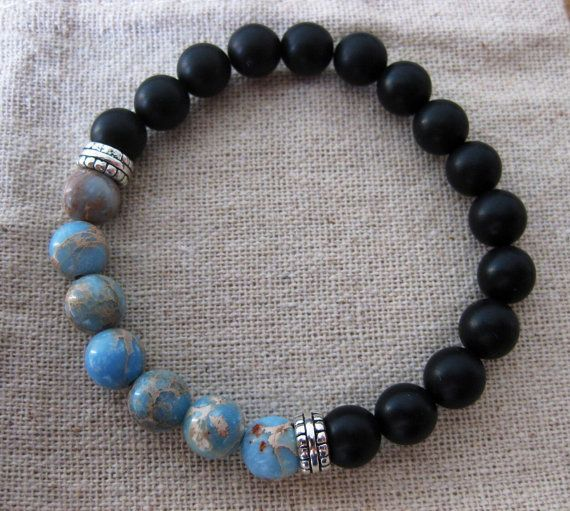 Mens Bracelet Women S Beaded By Eightyeightbeads