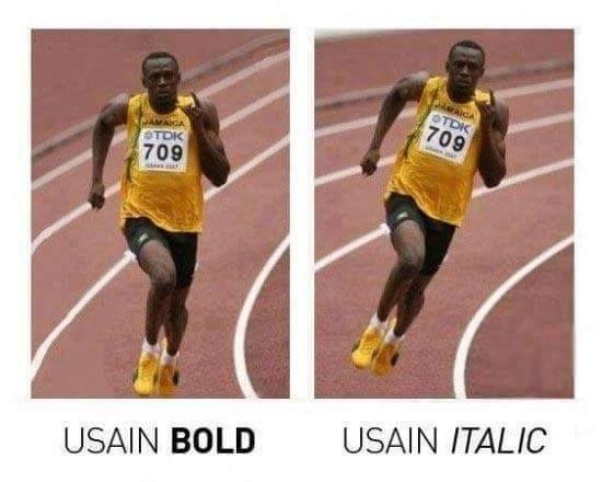 Usain bold and italicalexander_andi - http://asianpin.com/usain-bold-and-italicalexander_andi/