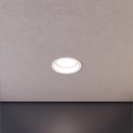 D2 - LAD Darkon 13W LED downlight. Located in the BOQ tenancy above the counter