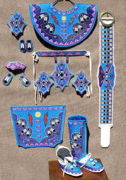 KQ Designs - Native American Beadwork, Powwow Regalia, and Beaded ...