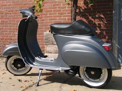 Vintage Scooters - Restauratie Vespa 50 Special