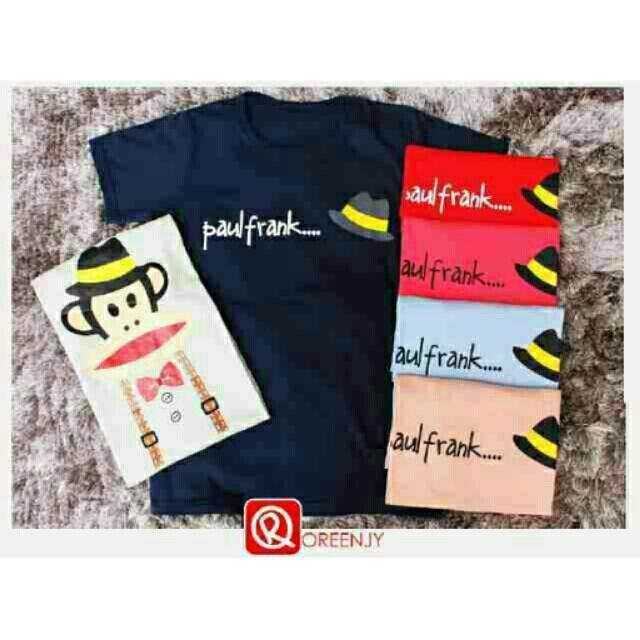 Saya menjual Kaos wanita / kaos lengan pendek  / paul frank tee / size allsize seharga Rp40.000. Dapatkan produk ini hanya di Shopee! https://shopee.co.id/ssfashionkaos/462257111 #ShopeeID