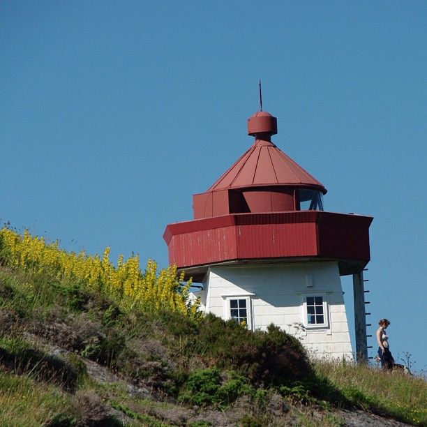 Skongenes lighthouse. #skongenes #lighthouse #sognogfjordane #visitnorway #i_love_norway  #nofilter