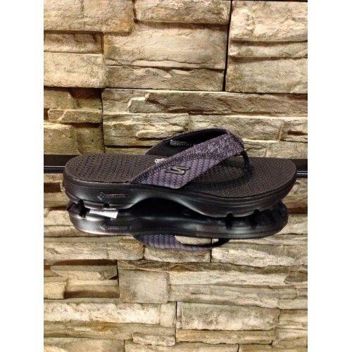 Sandale Skechers GoWalk 3 Pizazz Noir